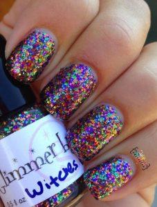 glitter multi color