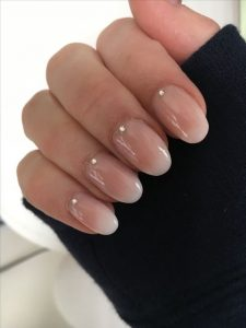 short ombre french tips