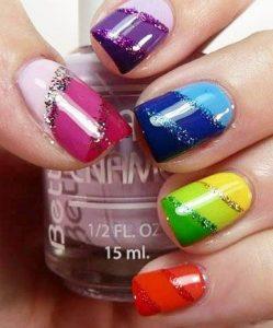 colors diagonal