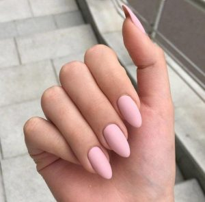 matte pink nude