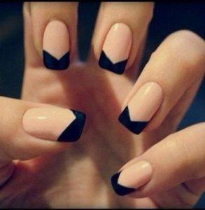 french black tip shape