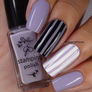 stripes of lavender