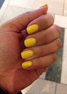 shellac bold yellow