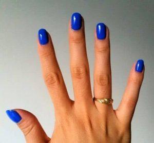 shellac bright blue