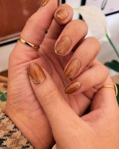 bronze gold wiring