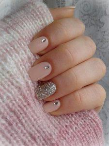 nude jewel glitter