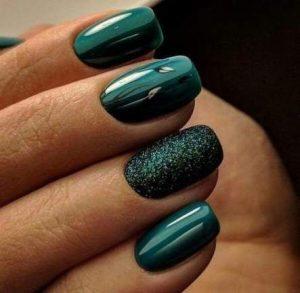 shellac emerald green