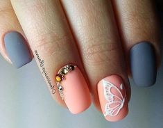 peach white butterfly 3d