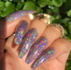 iridescent fully glitter