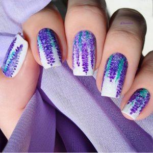 flower lavender white