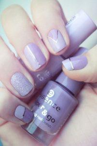chrome stripe lavenders