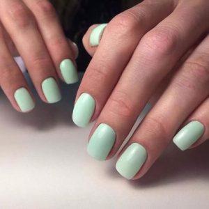 shellac mint green