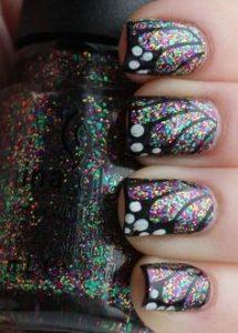 iridescent glitter wings