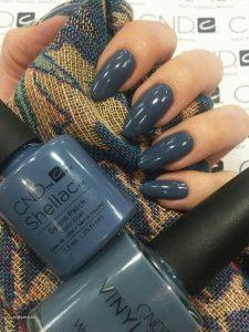 shellac medium blue