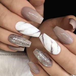 nude marble white