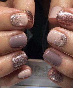 shellac neutrals glitter