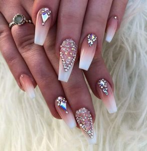 french ombre jewel