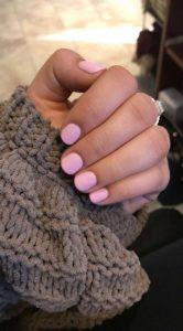 shellac pale pink