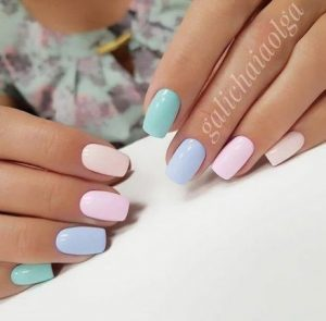 shellac shades of pastel