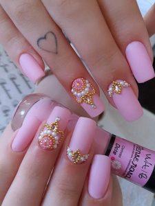 matte pearl jewel pink