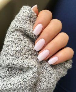 white pink tint