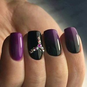 black jewel edge purple