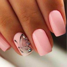 pink butterfly feminine