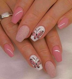 delicate butterfly accent