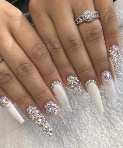 clear white jewel