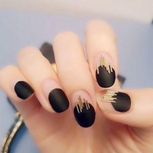 black wire stripe