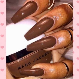 warm brown polish color