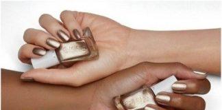 chrome in gold for dark skin