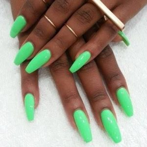 neon green highlight dark