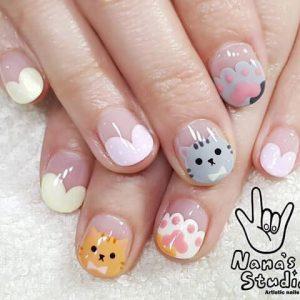korean cat design