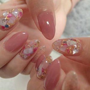 kawaii pink glam design