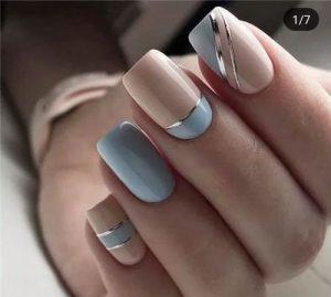 2020 nude blue minimal
