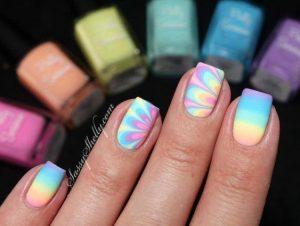pastel tie dye designs