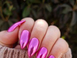 super shine chrome pink