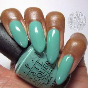 dark skin solid turquoise