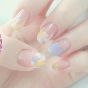 korean blue and yellow