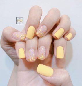 korean yellow art