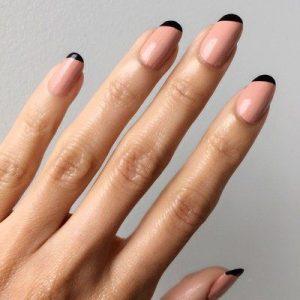 minimal black ends