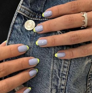 gel yellow tip blue