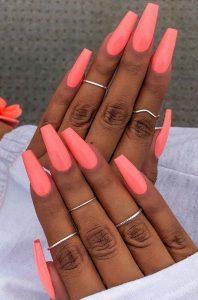fiberglass coral nails
