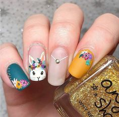 matte easter clear bunny