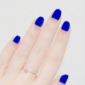 minimal cobalt blue