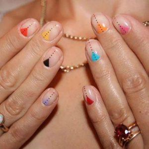 rainbow triangle minimal