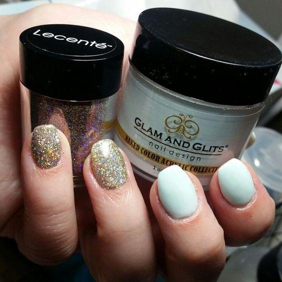 blue glitter dip glam glits