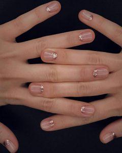 minimalist glitter