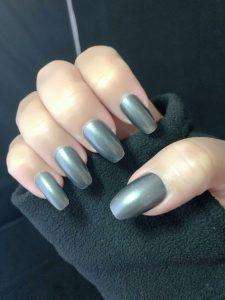 fiberglass metallic blue gray